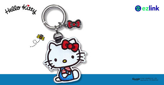 Featured image for EZ-Link releases new Hello Kitty EZ-Link charm from 8 Oct 2021