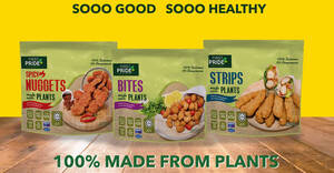 Featured image for First Pride launches it's first range of plant-based guilt-free bites in Singapore