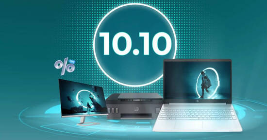 Featured image for HP S'pore 10.10 sale offers up to $100 in savings and more till 10 Oct 2021