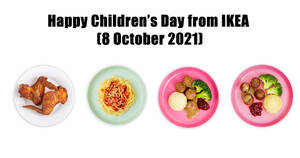 Featured image for IKEA S'pore celebrates Children's Day with up to 50% off offers for kids menu items on 8 Oct 2021
