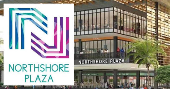 Northshore Plaza Upcoming New Shopping Mall at Punggol releases list of outlets opening in the mall