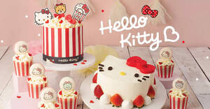 Featured image for Polar Puffs & Cakes launches new Popcorn Inspired Hello Kitty Popcakes (From 21 Oct 2021)