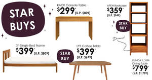 Featured image for Scanteak's Halloween Surprises sale offers teak furniture at up to 60% off till 31 Oct 2021