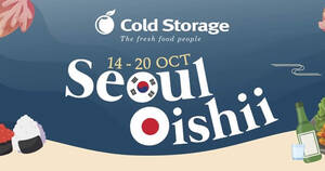 Featured image for Taste the wonders of Japanese and Korean cuisine with these deals at Cold Storage till 27 Oct 2021